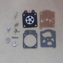 CARB Ремкомплект для oleo-Mac GS44 941C 741 937 942 370 триммер прокладка диафрагмы карбюратора крючковая игла восстановить OVERHAULT WT781