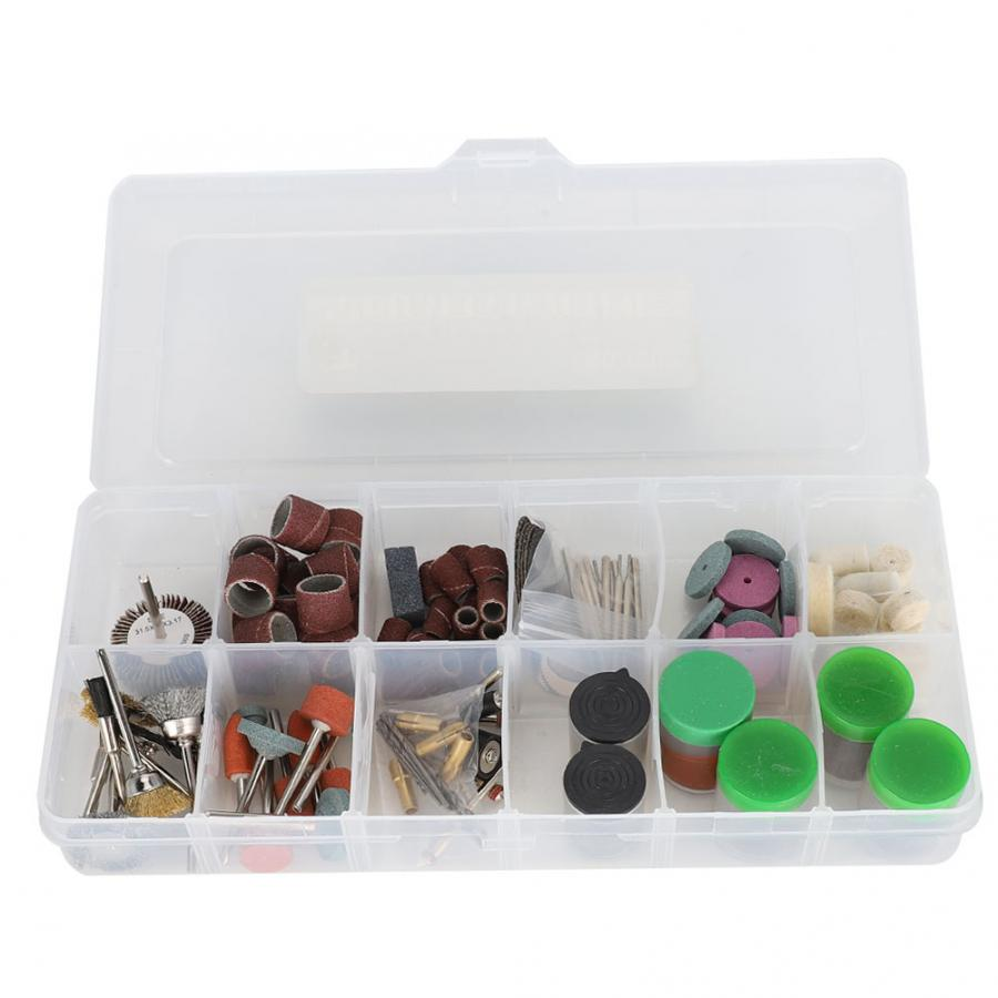 260Pcs Electric Die Grinder Machine Rotating Tool Replacement Kit Accessories With 1Pc Storage Box