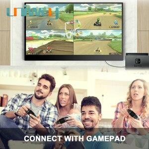 Image 5 - Uniway 13.3 inç taşınabilir monitör için c tipi hdmi bağlantı noktası dizüstü bilgisayar telefonu için xbox anahtarı ps3 ps4 oyun monitörü