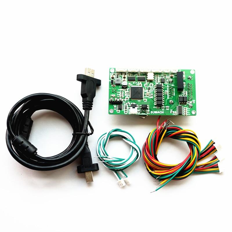 MACH3 USB Port 4 Axis CNC Control Card SUMACH For DIY CNC Frame Router Machine