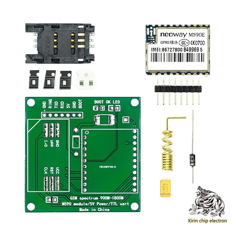 5 PCS/LOT GSM/GPRS Module Manual Welding Kit M590E