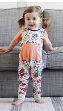 2020 модная летняя одежда для маленьких девочек детский комбинезон