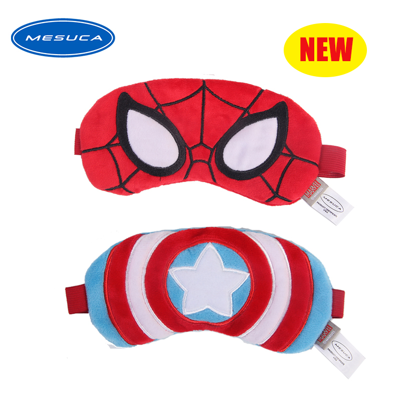 Sale Marvel Sleeping Eye Mask Plush Eye-patch Soft Fashion Eye Cover For Traveling