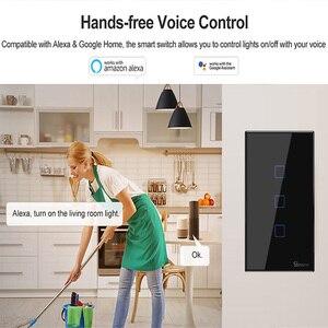 Image 5 - Sonoff T2/T3 米国 1/2/3 gang wifi タッチパネル壁ソケット 433mhz rf ワイヤレスリモート制御 ewelink google ホーム alexa