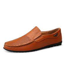 2020 New Men Leather Shoes Genuine Leather Mens