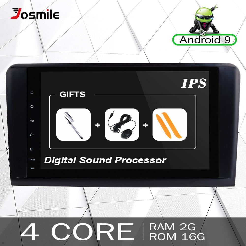 Autoradio 2 Din Android 9.0 pour Mercedes Benz ML W164 ML350 ML500 X164 GL320 GL multimédia GPS Navigation unité Audio stéréo