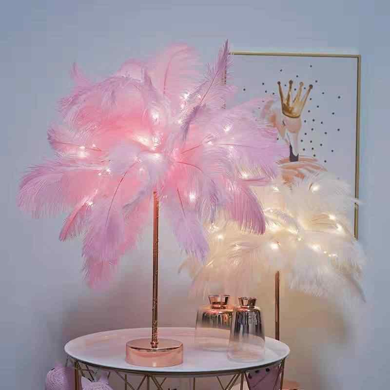 rose gold lamp base pink girly room