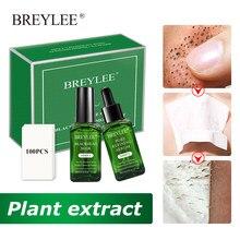 Breylee máscara preta removedor de cravo soro máscara de folha facial encolher poros acne tratamento hidratante anti-envelhecimento essência cuidados com a pele