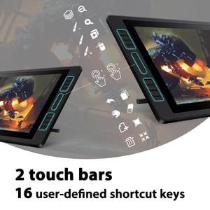 Image 4 - Kamvas pro 20 2019 versão com inclinação gráficos tablet monitor 8192 leverls pressão sensibilidade caneta exibição desenho tablet