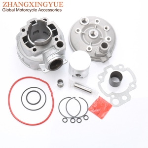 70cc 47mm Big Bore cylinder kit & Piston Kit & Cylinder Gasket for Sherco Enduro 50 SM Panther Urban 50cc LC 2T AM6(China)