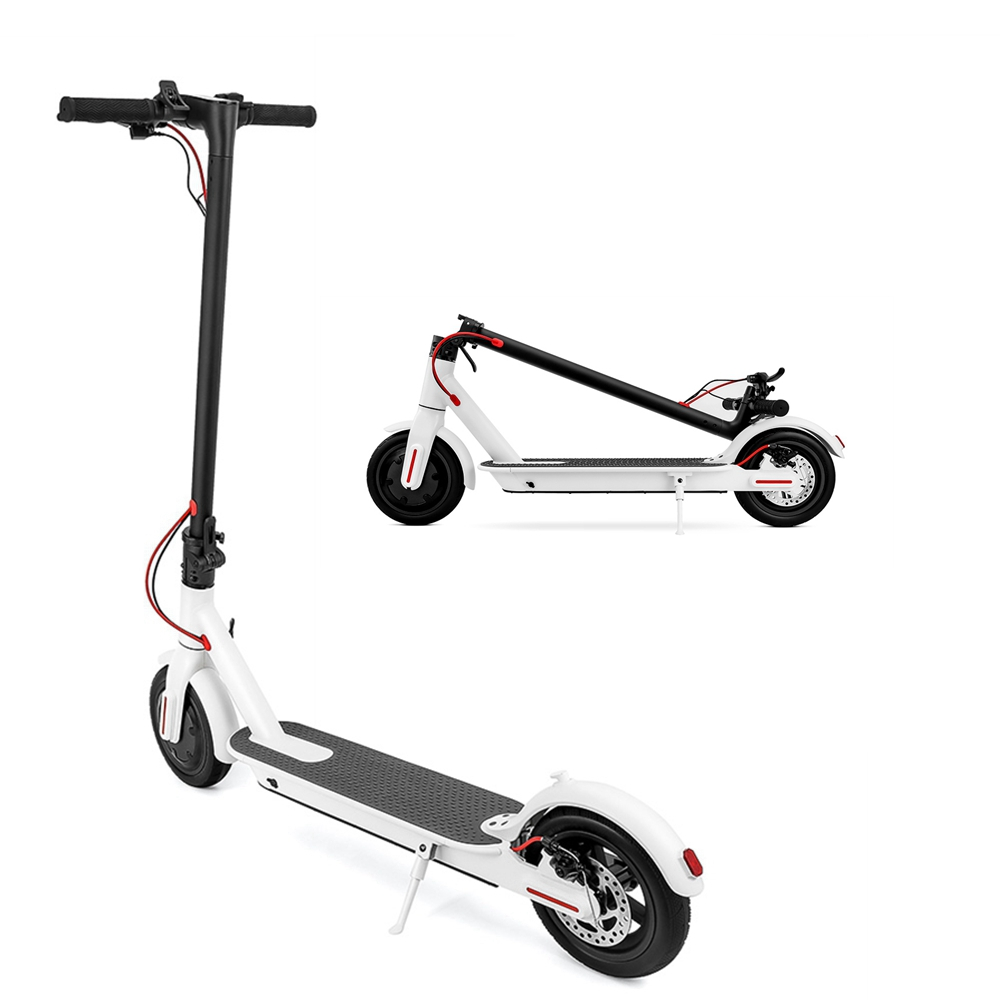 6.0Ah/7.5Ah Folding Electric Scooter for 15-20KM Distance
