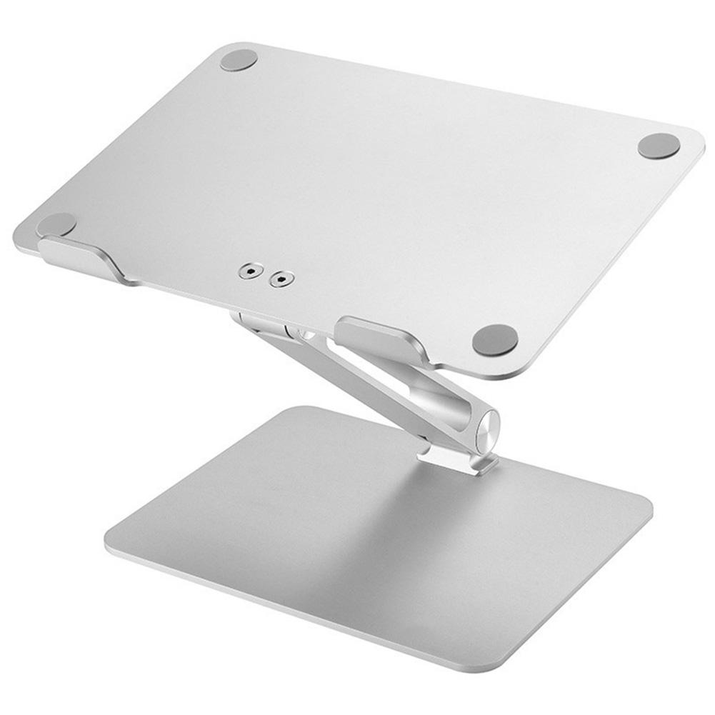 Universal Aluminum Alloy Laptop Holder Stand Foldable Adjustable Rack for Notebook Tablet GV99
