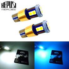 2X W5W T10 LED Car Light Canbus lamps License Plate Trunk Lamp Parking Reading 12V 24V White Ice Blue