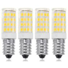 4 PCS E14 Refrigerator Bulb 5W Fridge Sewing Machine LED Lamp Replacement