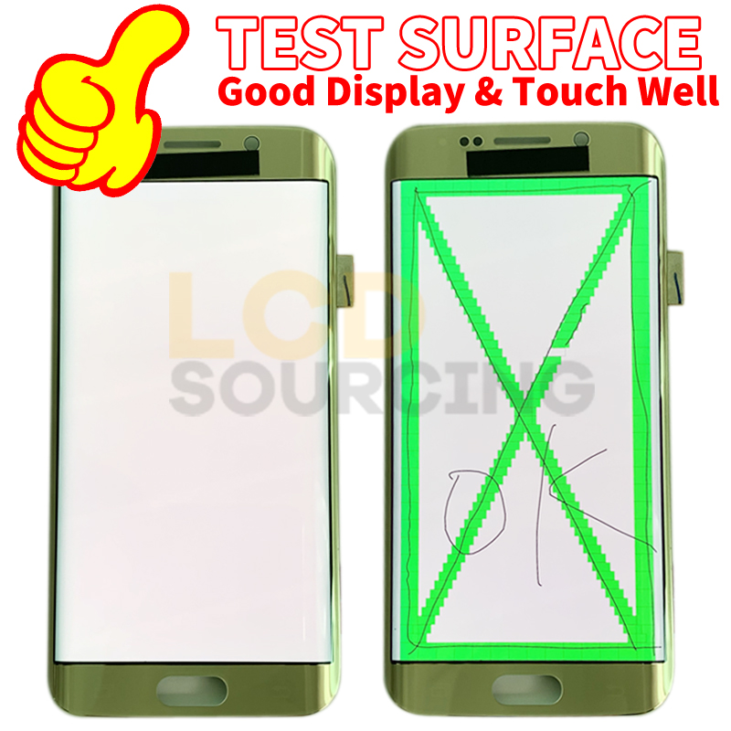 """Image 5 - 5,7 """"для Samsung Galaxy S6 edge plus ЖК дисплей G928 G928F сенсорный экран дигитайзер сборка для Samsung s6 edge LCD Замена G925Экраны для мобильных телефонов    АлиЭкспресс"""