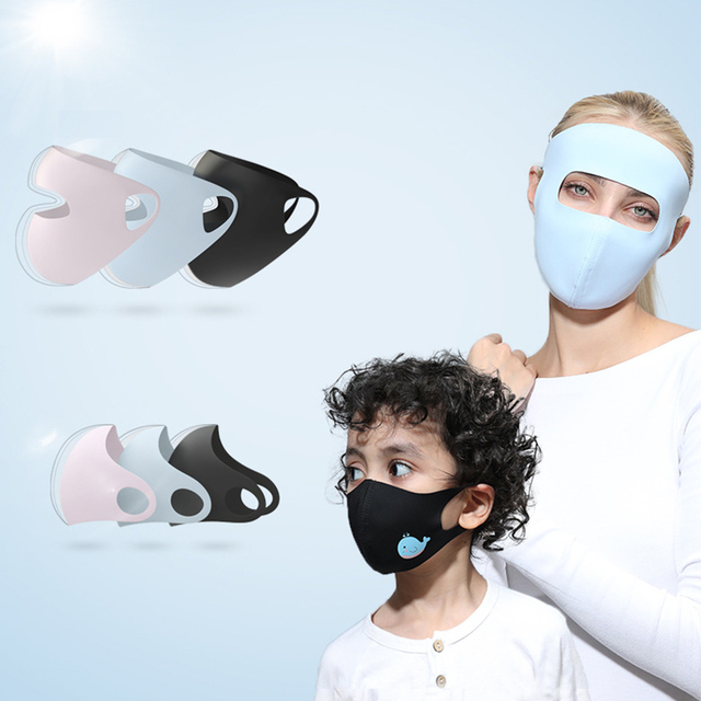 Women Men Kids Animal Black Mouth Mask Anti Dust Windproof Mouth-muffle Bacteria Proof Flu Elastic Face Masks Washable 5