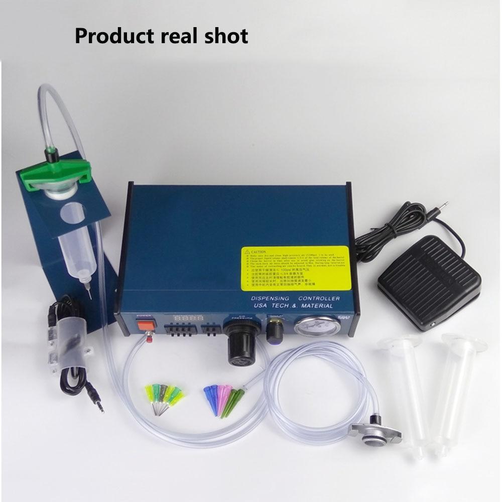 983A Professional Precise Digital Auto Glue Dispenser Solder Paste Liquid Controller Glue Dropper Fluid Dispenser Tools Machine