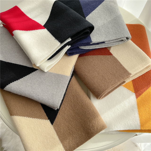 2021 вязанный длинный шарф для женщин 6