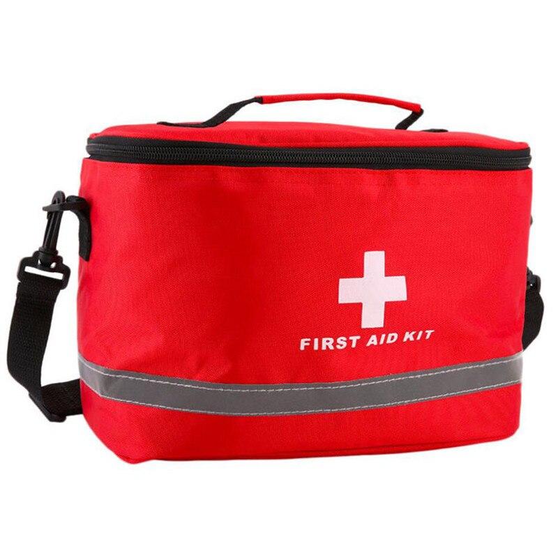 Аптечка первой помощи, Походные Военные наборы, большой плечевой ремень, портативная Автомобильная аварийная медицинская сумка, дорожная с...