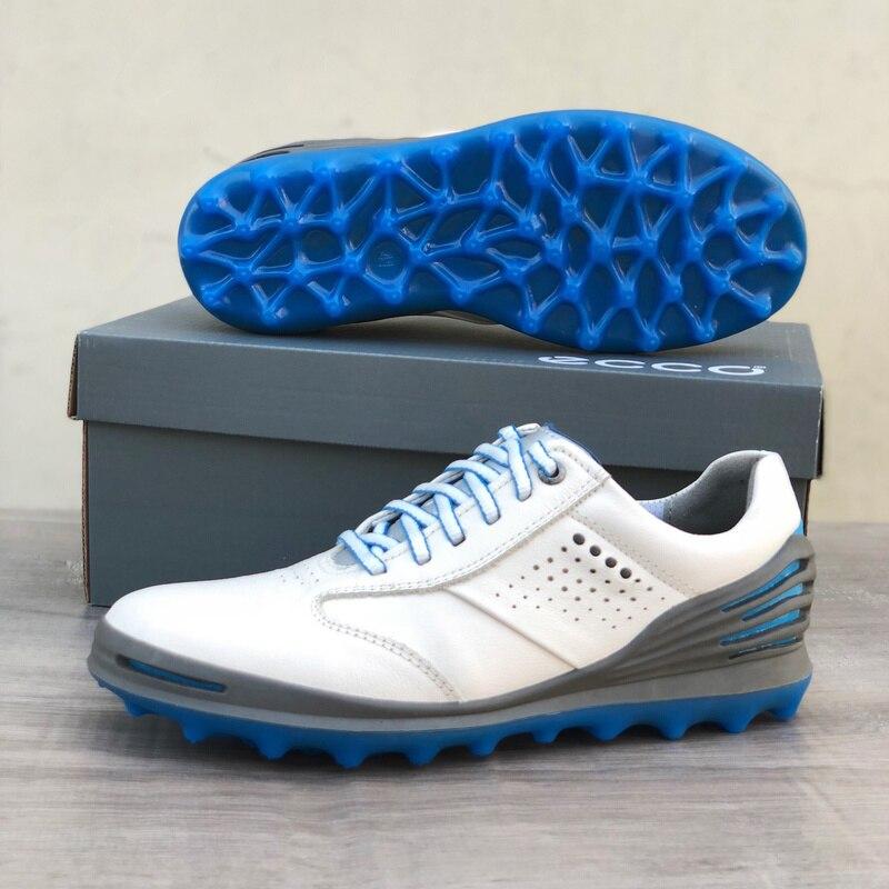 Осень обувь для игры в гольф дышащие кожаные туфли Спортивная обувь светильник Вес Мужская обувь для игры в гольф, высокое качество, для игр...
