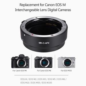 Image 3 - AF Lens Mount Adapter Ring Extension Tube as Viltrox EF EOS M MOUNT for Canon EF EF S Lens to Canon EOS M2 M3 M6 M10 M50 M Mount