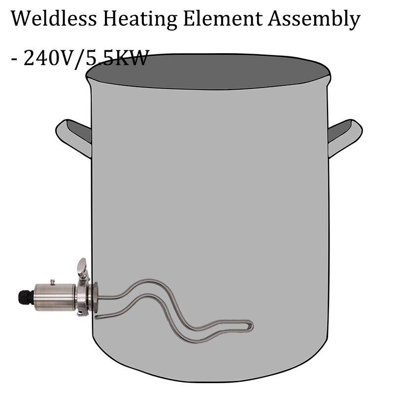 溶接加熱要素アセンブリ 1.5