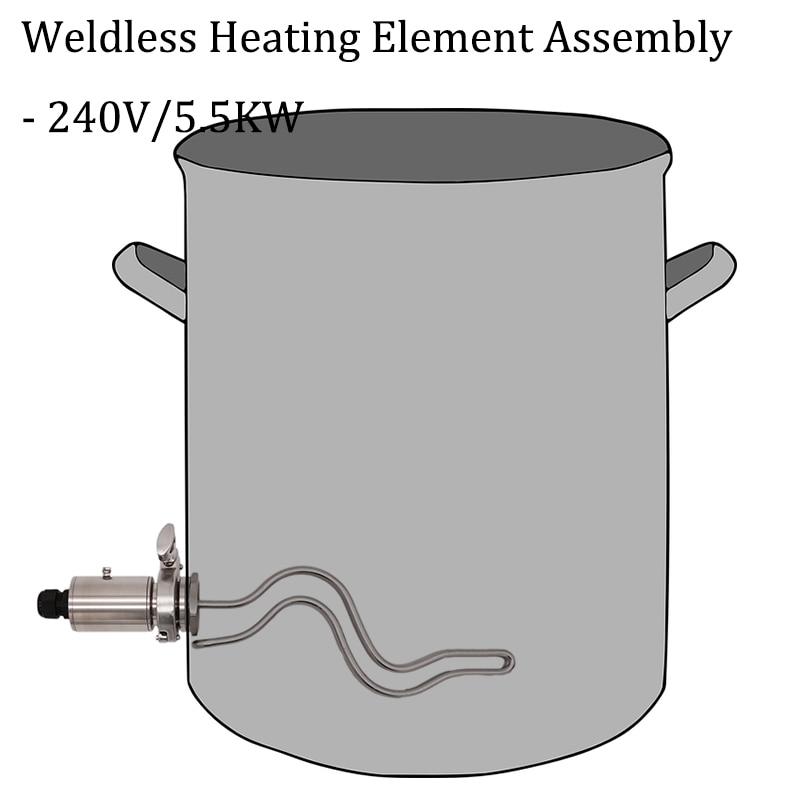 Assemblage d'élément chauffant sans soudure 1.5