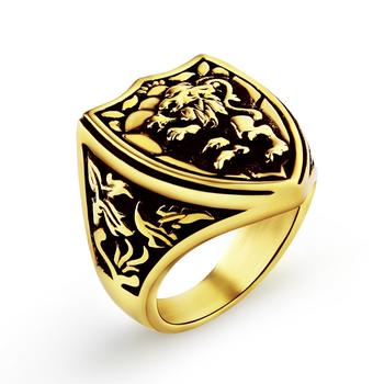 Bague lion royale