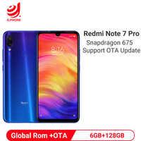 Xiaomi Redmi Nota 7 Pro 6GB 128GB Smartphone Snapdragon 675 Octa Core 4000mAh 18W Caricatore Rapido 48MP Doppia Fotocamera Del Telefono Mobile