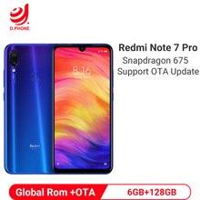 Xiaomi Redmi Note 7 Pro 6GB 128GB Smartphone Snapdragon 675 Octa Core 4000mAh 18W Quick Charger 48MP