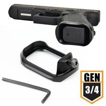 Держатель рамки адаптер Pro для компактного Glock 19 23 32 38 Gen 3 4 страйкбол пистолет база Pad 9 мм журнал хорошо Magwell аксессуары