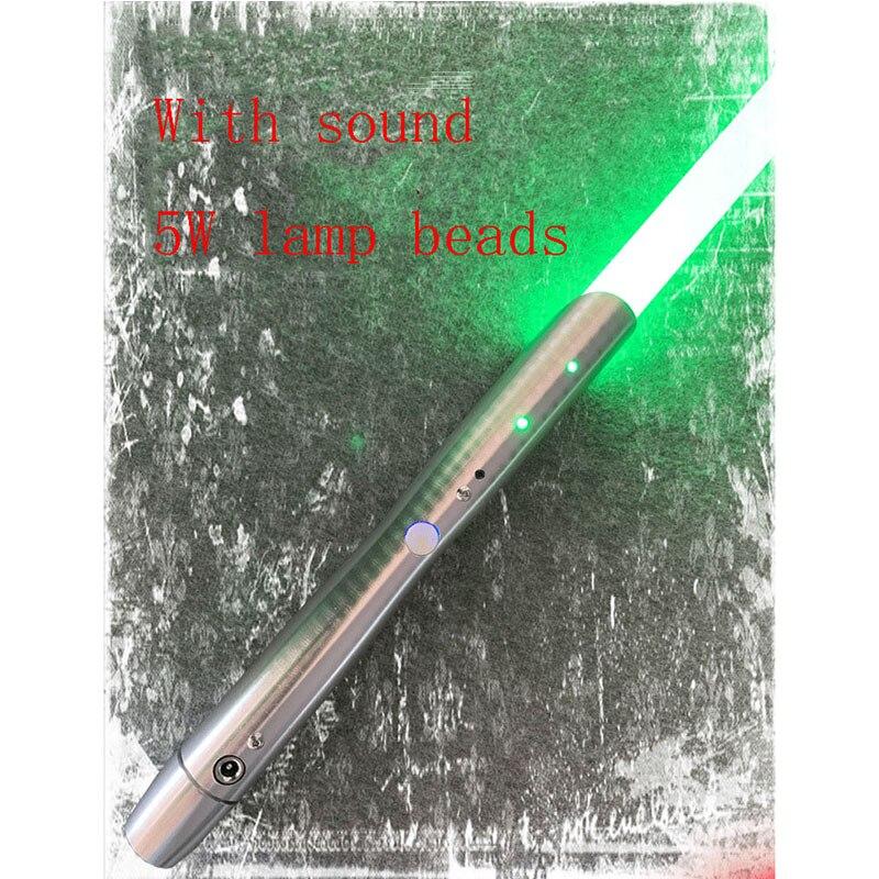 Nouveau 1 pièces Cosplay sabre laser avec son léger sabre alliage Skywalker épée 100 Cm jouet cadeau garçon cadeau d'anniversaire jouets de noël - 2