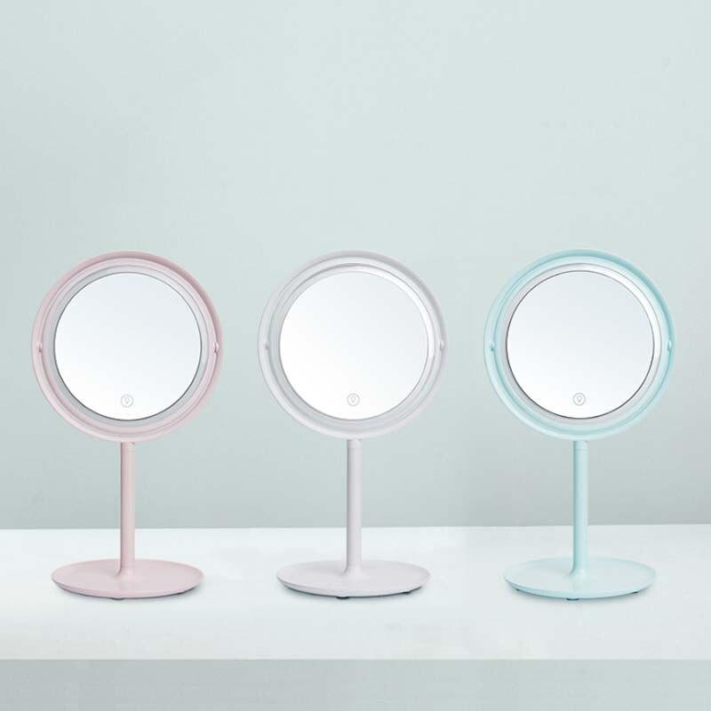 a lâmpada mesa com luzes rotativo luz