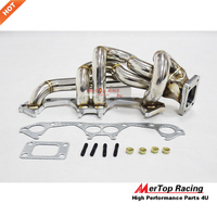 MERTOP Race TURBO STAINLESS STEEL EXHAUST MANIFOLD For Super 5 GT 5GT 1.4L T25 1985 1991