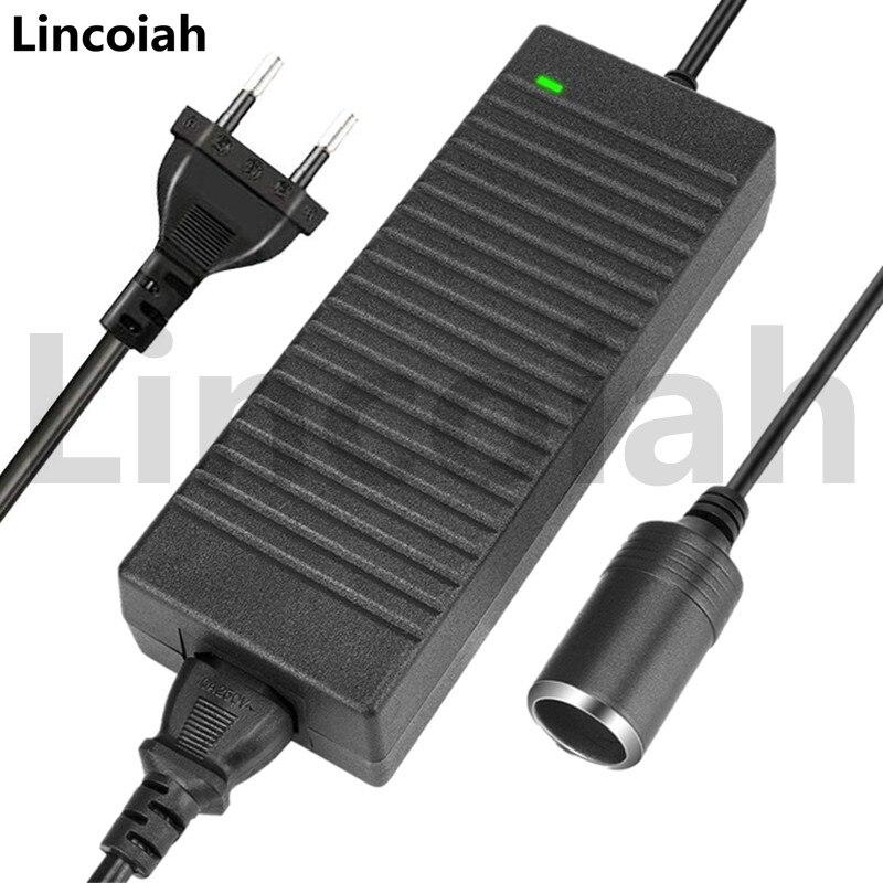 Lincoiah конвертер 120 Вт AC в DC адаптер 220 в 12 В электронное зарядное устройство розетка для автомобильного прикуривателя 100 240 в преобразователь трансформатора Адаптеры AC/DC      АлиЭкспресс