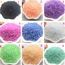 Round-Gasket Loose-Beads Jewelry-Accessories Acrylic Colorful 2mm DIY 1000pcs/2mm