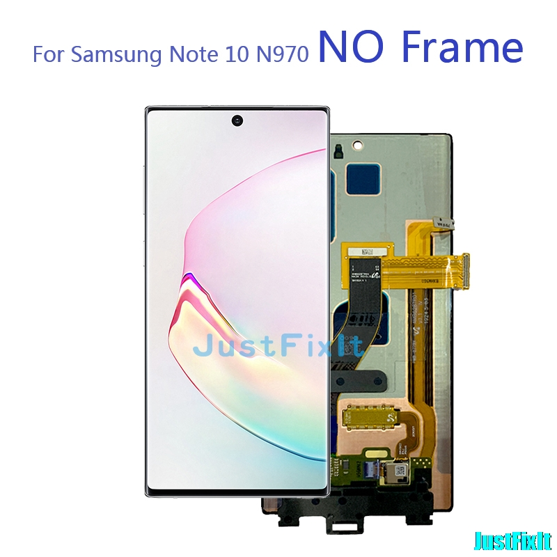 Image 5 - Original For Samsung Galaxy Note 10 /Note 10plus/Note 10+/Note 10 pro Lcd with Frame Display Touch Screen Digitizer Assembly -in Mobile Phone LCD Screens from Cellphones & Telecommunications