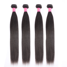 Jessenia Human Hair Bundles Malaysia Hair Straight Weave 4 Bundles Deal 8-26 Inc