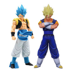 Dragon Ball Z Vegetto Gogeta figurka Super Saiyan zabawki Dragon Ball Super Anime Goku Vegeta figurka kolekcjonerska zabawka
