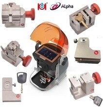 Volle 6 Klemmen Alpha Automatische Schlüssel Schneiden Maschine Unterstützung Automobil Wohn Motorrad Grübchen Tubulars FO21