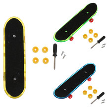Mini Finger Skateboard Fingerboard for Tech Deck Classic Game Boy Toy(China)