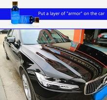 9H araba seramik Nano hidrofobik kaplama cam Nano seramik süper hidrofobik Anti Scratch lehçe boya araba bakımı aksesuarı