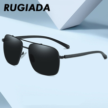 RUGIADA Brand Retro Men s 2019 Polarized Sunglasses for Driving Metal Frame Sun Glasses gafas de sol RA2021