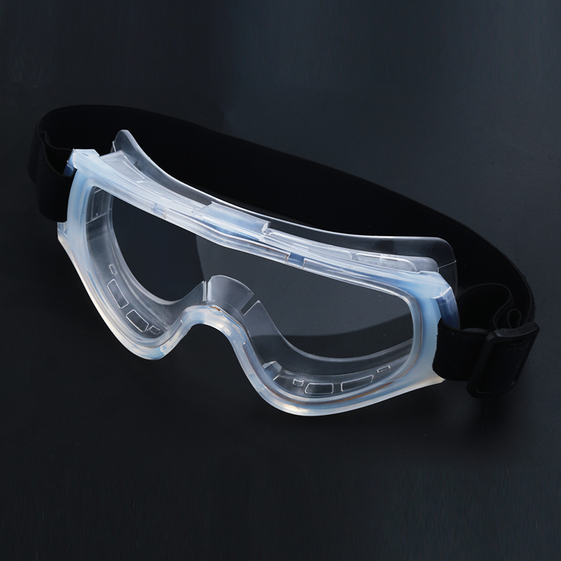Jiepolly Transparent Dust-Proof Anti-fog Protective Glasses Safety Goggles Eyewear Pectacles Protection Goggles Safety Eyewear