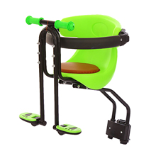 Bike Bicycle Safety Baby Child Seat Saddle Children Front Mount Carrier with Handrail Armrest