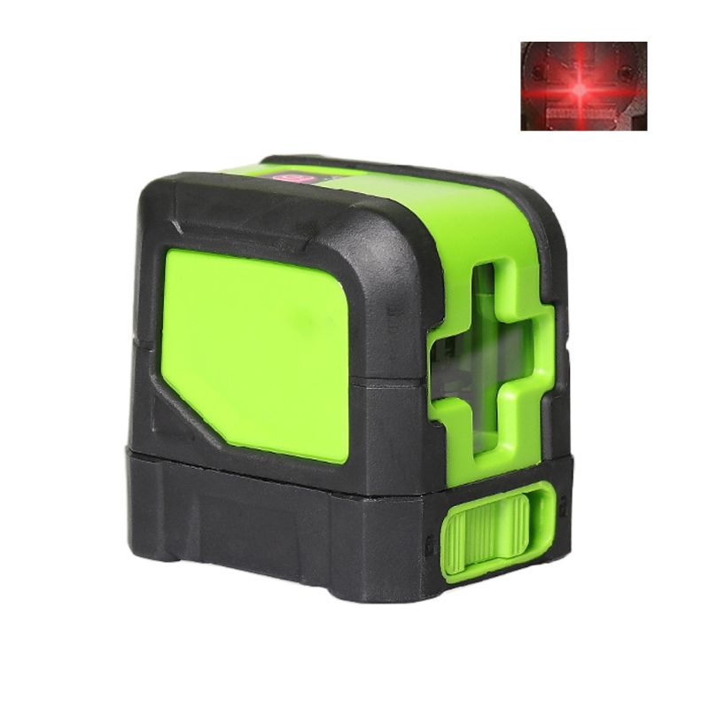 2 Line Infrad Level Self Leveling Green/Red Beam 110° Extend Angle Measurie Tool|  - title=