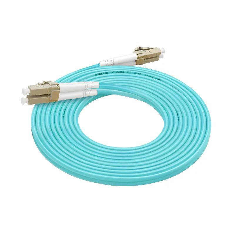 5PCS OM3 LC-LC UPC  Multimode Duplex 2.0mm or 3.0MM Fiber Optic Patch Cord fiber optic patch cable