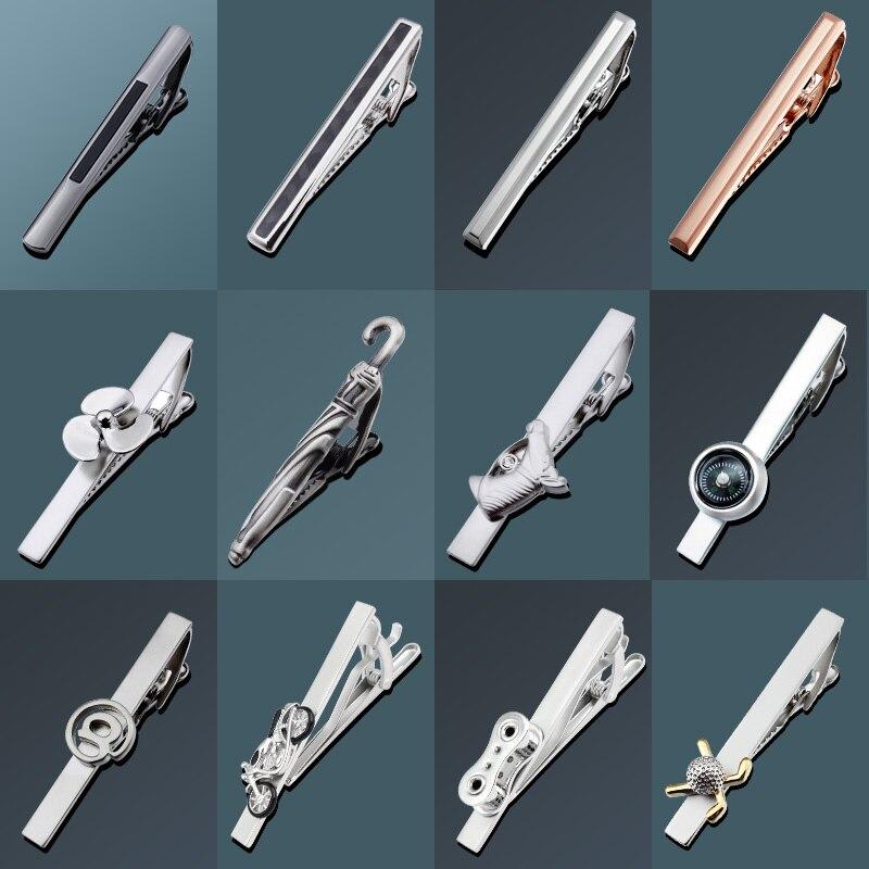 HAWSON Fashion Novelty 2.2 Inch Men's Tie Clip Pin Tie Bar For Regular Necktie