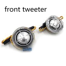 Car front and rear tweeter speaker For BMW F10 F11 F30 F32 E60 E90 G30 series high quality music stereo HiFi horn loudspeaker for 1991 1999 bmw 3 series e36 6x9 rear speaker adaptors kit rings spacers high quality car speaker adapter