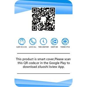 Image 5 - Smart Spiegel Flip Fall Für Samsung Galaxy S10 Lite S9 S8 S7 Rand A8 A9 A7 A5 A6 Plus 2018 a10 A20 A30 A40 A50 A80 A90 A70 Abdeckung